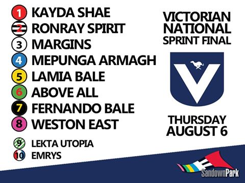 Vic nats box draw