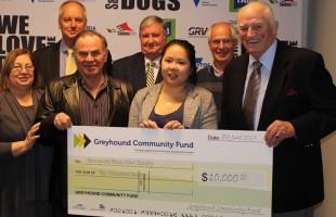 Greyhound Community Fund supports Springvale Benevolent Society