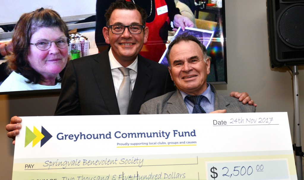 Joe Rechichi with Daniel Andrews - Superhero Awards