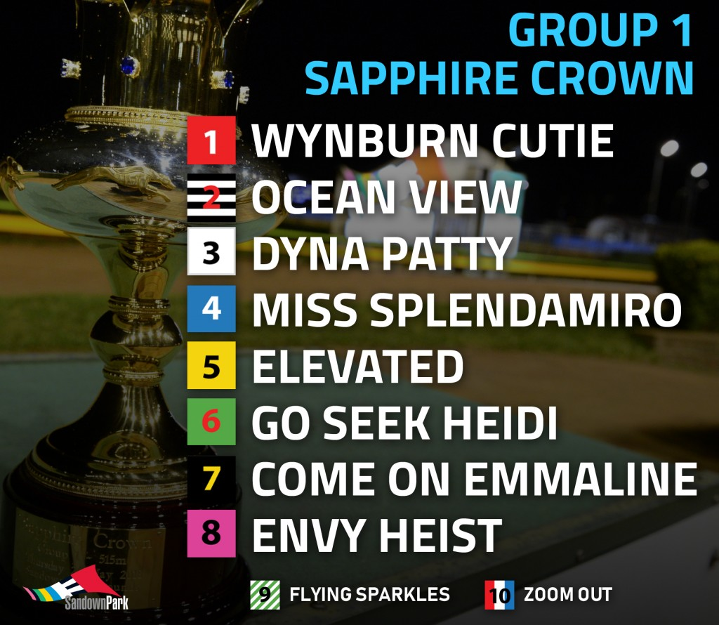 Sapphire Crown box draw 2018