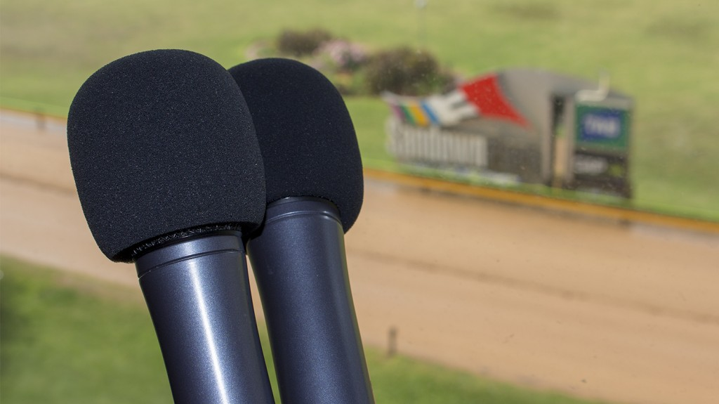 Microphones with post bg