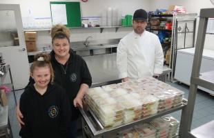 Community meals reaches 10,000 milestone